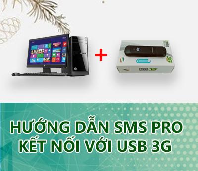 SMS Pro ket noi voi usb 3g