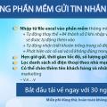 phần mềm gửi tin nhắn sms pro cho tài chính, tín dụng, ngân hàng